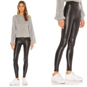 SPANX | Faux Leather Leggings